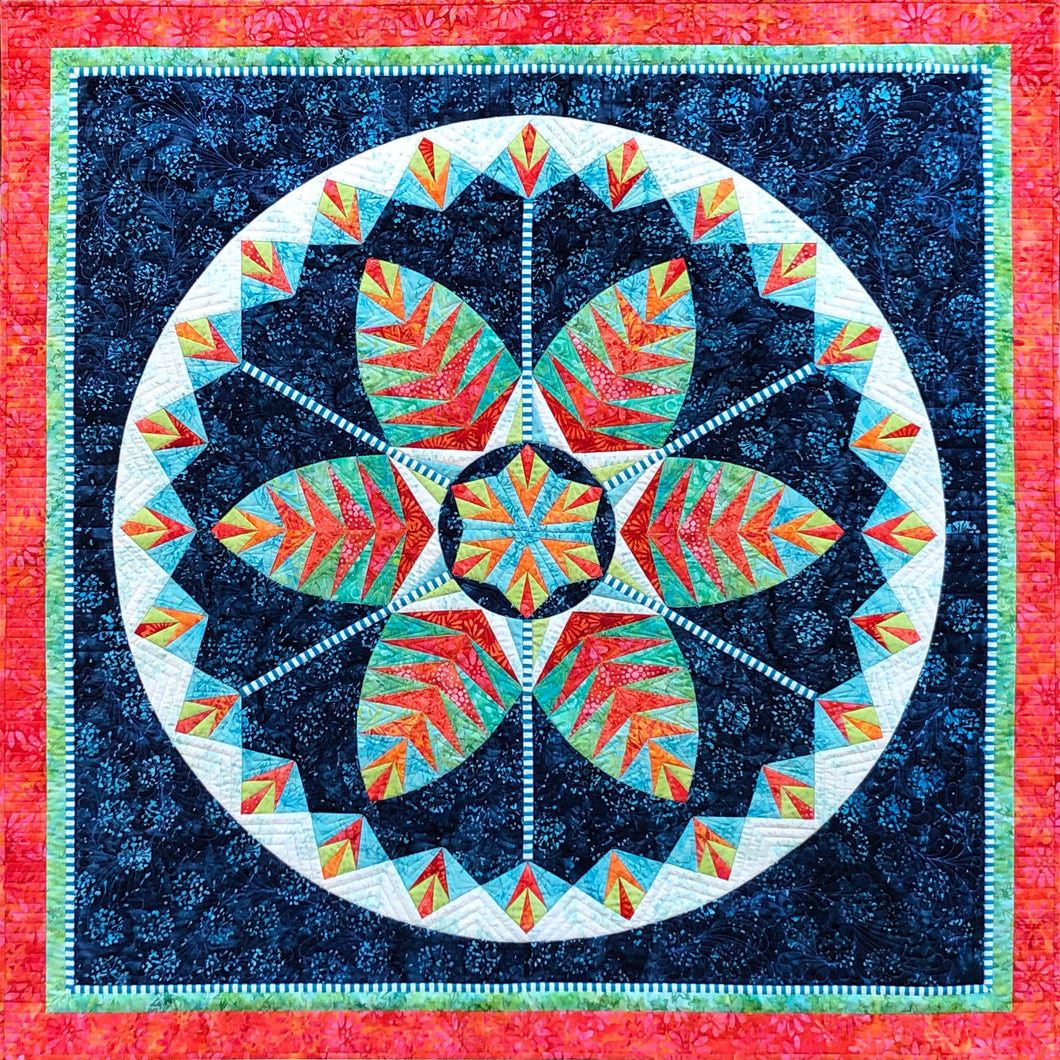 Botanica BeColourful Quilt Pattern