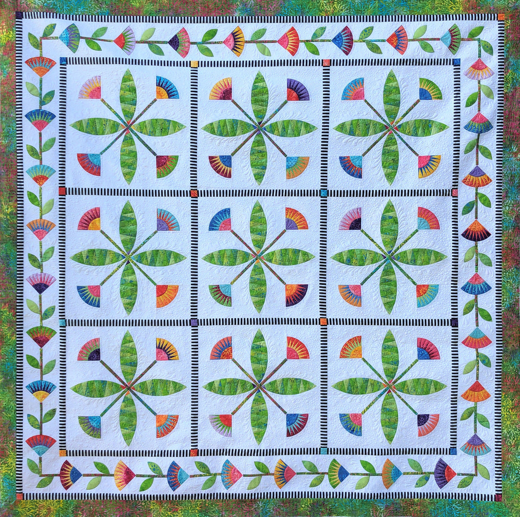 Summertime BeColourful Quilt Pattern
