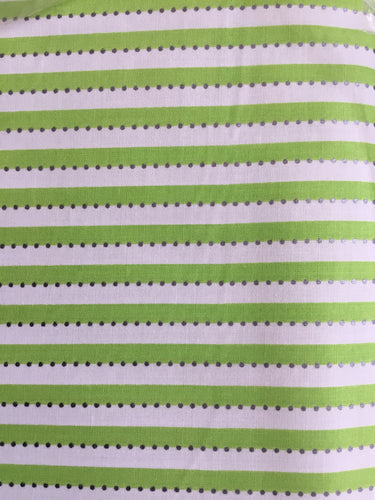 AN-OJDJ-BC287 Lime Stripe