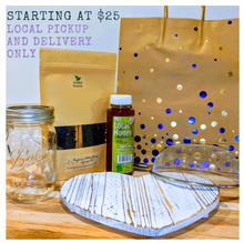 "Load image into Gallery viewer, **SHIPPING IS NOT AVAILABLE FOR THIS ITEM!! LOCAL delivery ONLY in Forest Grove 97116 (+5 mile radius)** Please select preferred variety in the dropdown menu below** Just Add Water"" Organic Elderberry Syrup Starter/Gift Sets"