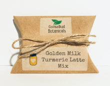 Load image into Gallery viewer, Organic Golden Milk Turmeric Latte Mix, (Single Serving) 3-Pack.  Just Add Water!