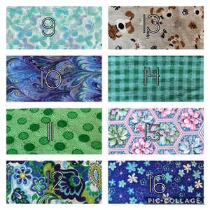 Cotton Fabric Face Coverings with Filter Pocket, Nose Wire, and Free Shipping *Please read description in full before ordering*