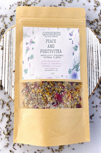 Indulgent TubTea: Organic Bath Tea with Herbs and Epsom