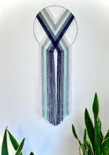 Load image into Gallery viewer, Handcrafted Macramé Heart Weave Wall Hanging