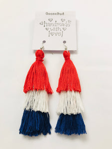 *FG Fundraiser* Adorable stacked tassel earrings with SHIPPING Included!