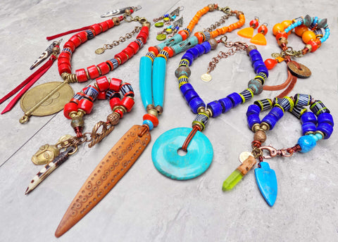 HOT off the Bench! Tribal Island Madagascar Jewelry Collection!