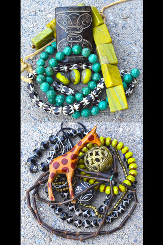 NEW Unique and Exotic Bead Collections ~ Great for Designers or Custom Creations!