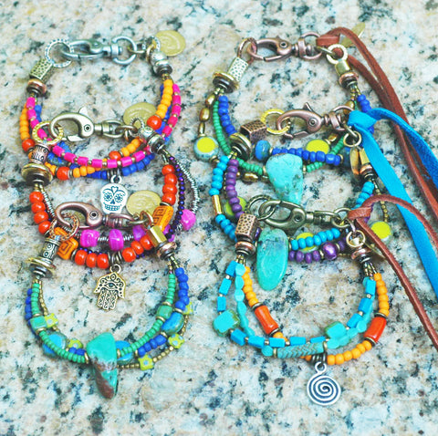NEW Batch of Friendship Bracelets Just Dropped off at jody g ~ Come in and Check them Out!