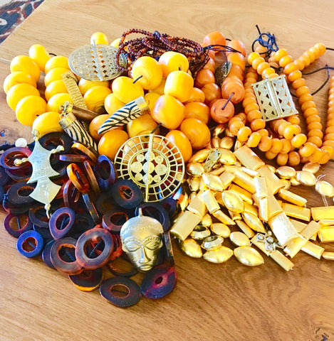 Fantastic new beads and pendants from the Tucson Gem Show