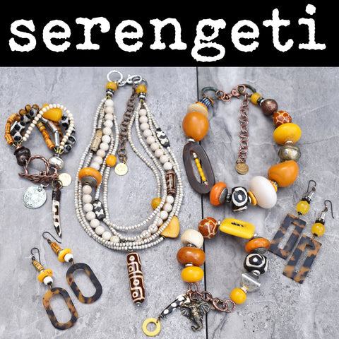 African Safari Inspired Serengeti Jewelry Collection
