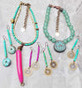 Custom Pink and Blue Simple but Bold Custom Jewelry Collection
