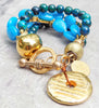 must have summer blue bracelet