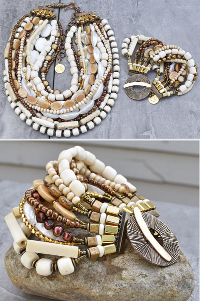 Get the Jump on your Winter Whites with these Gorgeous Bone Statement Pieces!