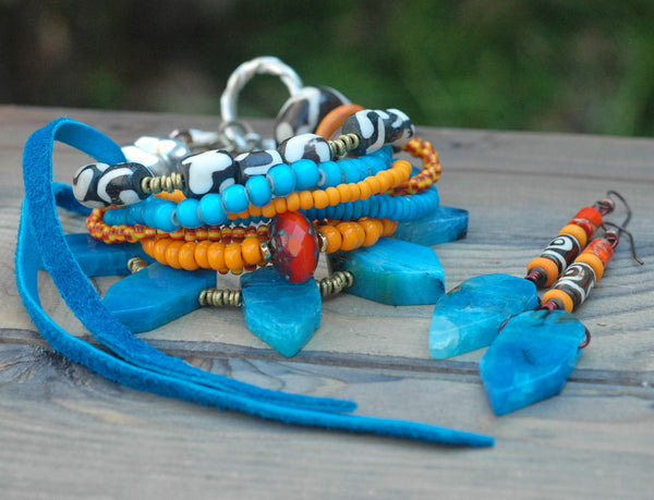Exotic Island Tribal Bohemian Statement Jewelry