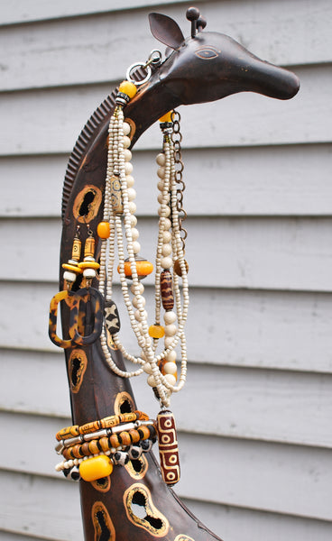 Stunning and exotic Serengeti African Safari-inspired Jewelry Collection