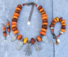 Exotic and Ethnic Moroccan Berber Amber Hamsa Jewelry