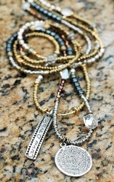 Long Boho Chic Pendant Necklaces perfect for layering!