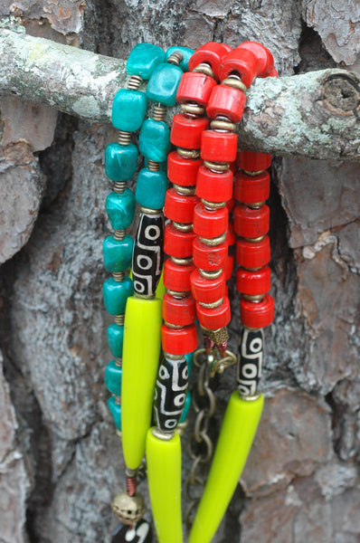 exotic bold tribal statement jewelry