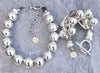 Silver Silver Silver! My Popular Silver Cuff and a New Dynamite Silver Ball Choker!