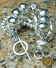 Bold and Chunky Exotic Silver Statement Bracelet