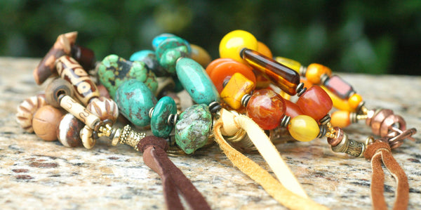 Fabulous Handcrafted Artisan Bohemian Tribal Statement Jewelry