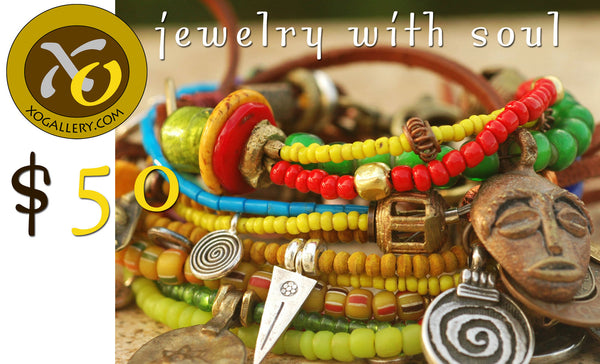 Gift Cards: Give Fabulous Handcrafted Artisan Statement Jewelry