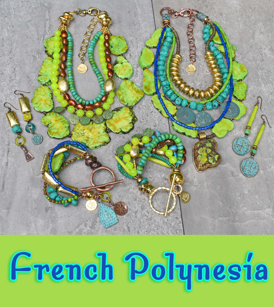 French Polynesia Summer Jewelry Collection