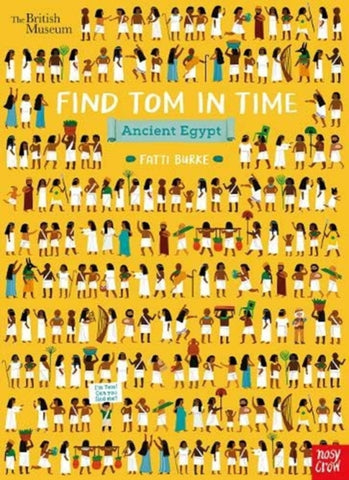 Find Tom in Time: Ancient Egypt