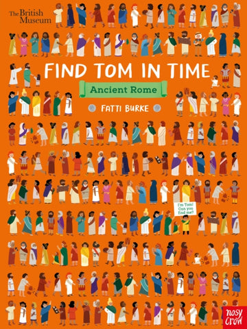 Find Tom in Time: Ancient Rome