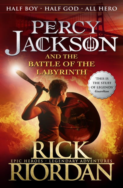 Percy Jackson and the Battle of the Labyrinth: Book 4