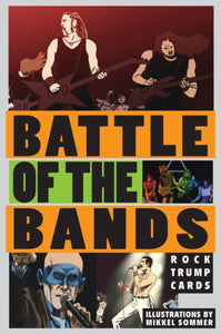 Battle of the Bands : Rock Trump Cards