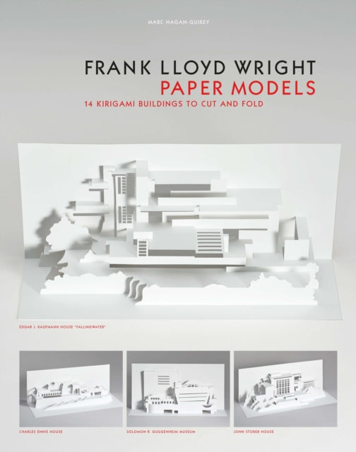 Frank Lloyd Wright Paper Models : 14 Kirigami Buildings to Cut and Fold
