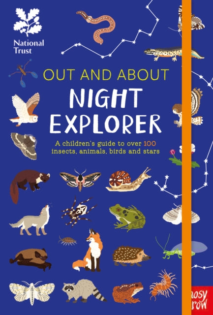 National Trust: Out and About Night Explorer : A children's guide to over 100 insects, animals, birds and stars