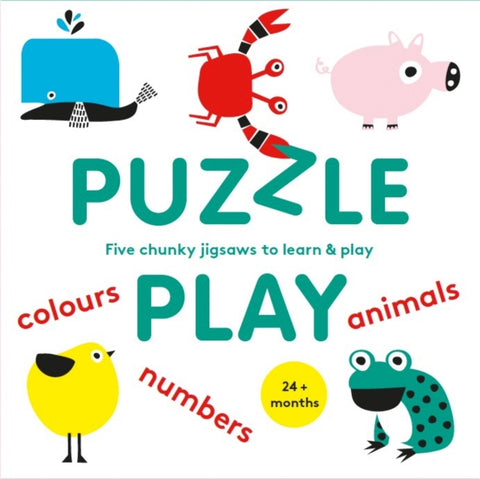Puzzle Play : Five Chunky Jigsaws to Learn & Play