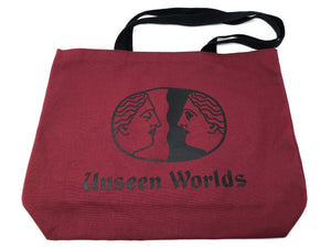 Unseen Worlds Logo Tote Bag