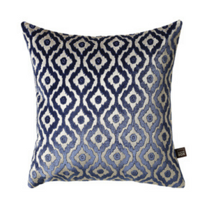 Kafir 58x58cm Cushion, Blue