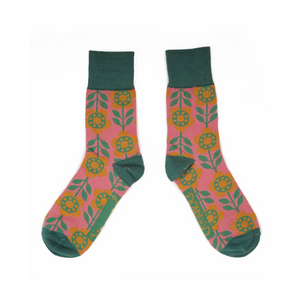 Men's Socks Flower Power - Candy