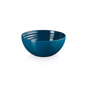 Stoneware 12cm Snack Bowl, Deep Teal