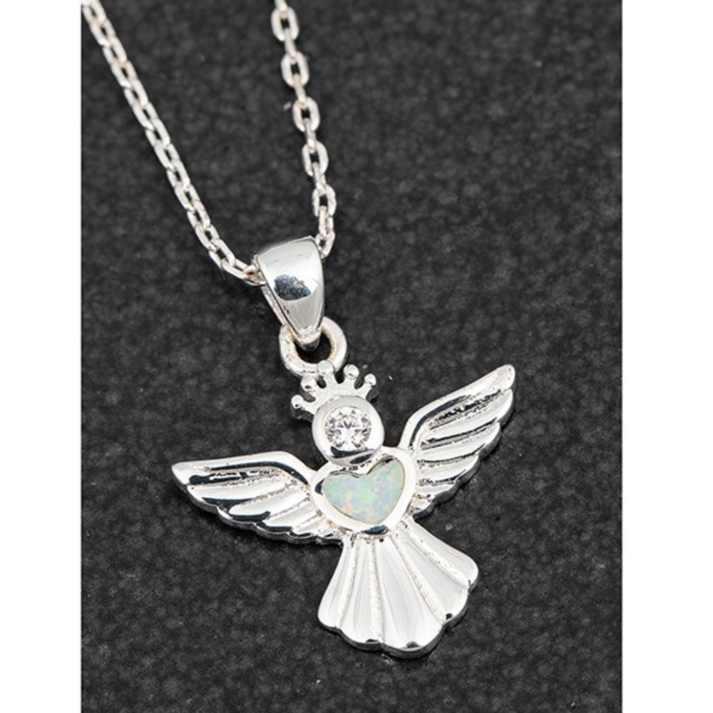 Guardian Angel Sparkle Necklace