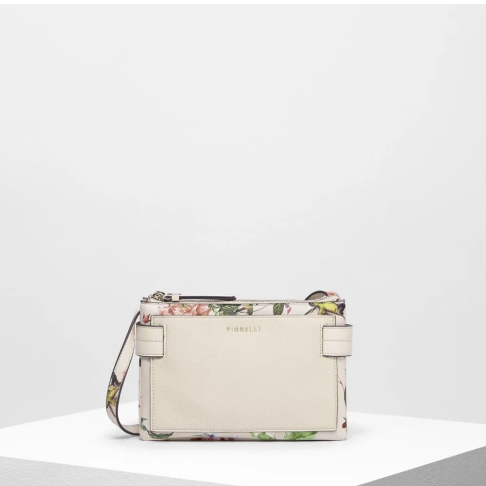 Brie Florence Print Crossbody