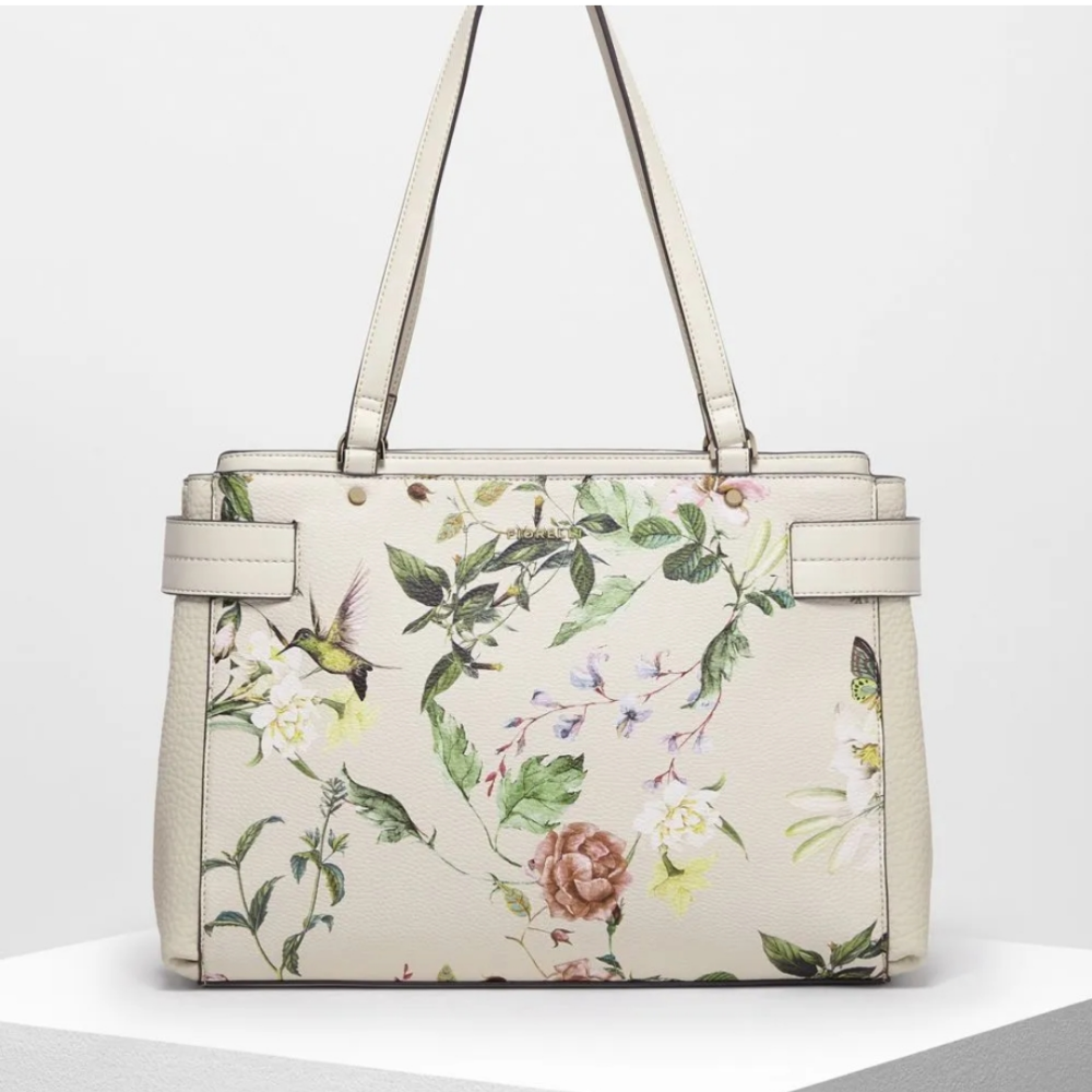 Brie Florence Print Tote