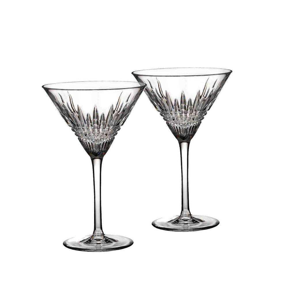 Lismore Diamond Martini Glass, Set of 2