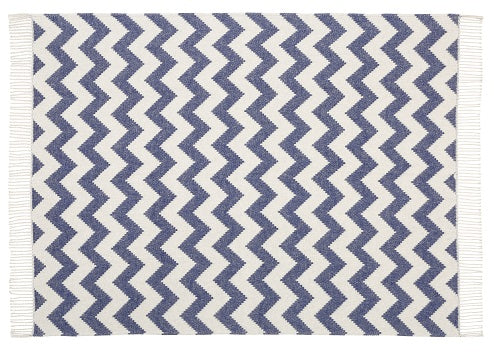 Ziggy Throw 127x178cm, Navy / Grey