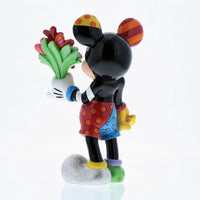 Mickey Mouse with Flowers