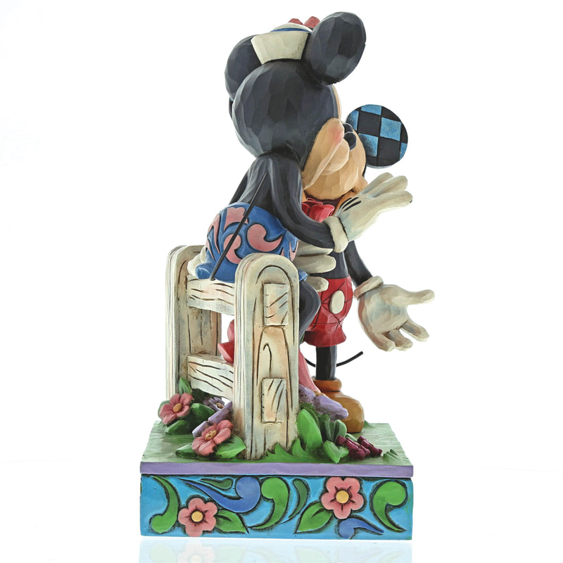 Blossoming Romance (Mickey & Minnie Mouse Figurine)