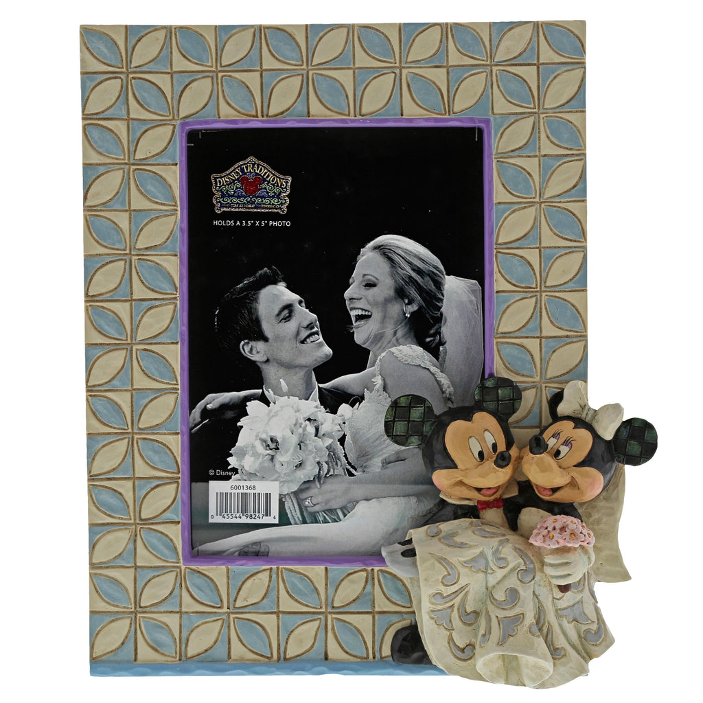 6001368 Disney Mickey & Minnie Wedding Frame
