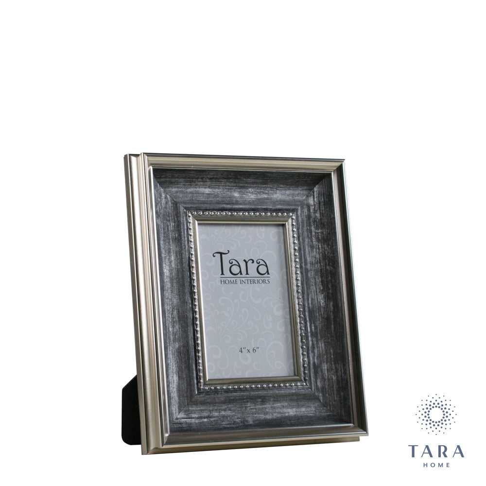 antique grey, tara photo frame