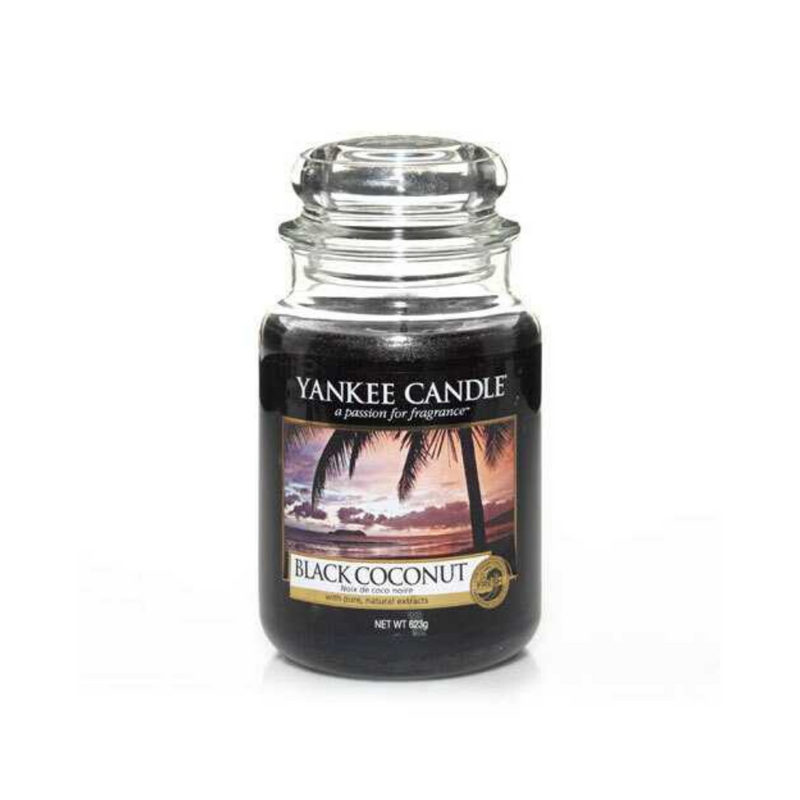 Black Coconut Large Jar