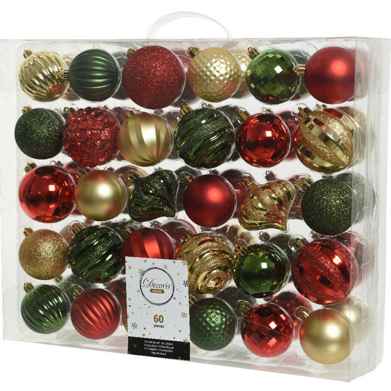 Bauble Mix- Traditional Christmas