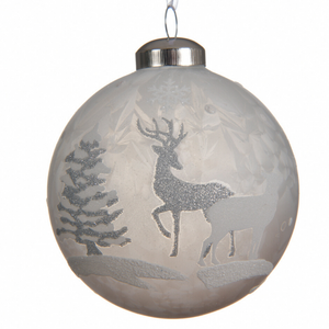 Deer Christmas Bauble